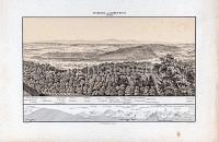 Basel Panorama von St. Chrischona in 6 Blättern