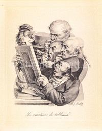Kunsthändler Karikatur