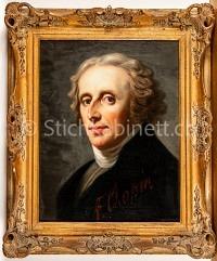 Portrait Frédéric Chopin