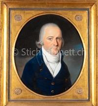 Portrait eines Herrn mit Ohrring
