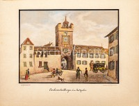 Basel Aeschenschwibbogen ohne Stadtgraben