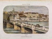 Basel  Trois Rois alte Rheinbrücke