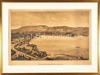 Zürich Die Quai-Anlagen in Zürich im Juli 1887