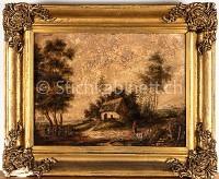 Haus in Landschaft