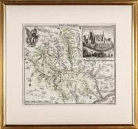 Baselland Karte Amt Farnsburg Schloss Farnsburg