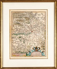 Basel Karte Basiliensis Territorii nach Münster